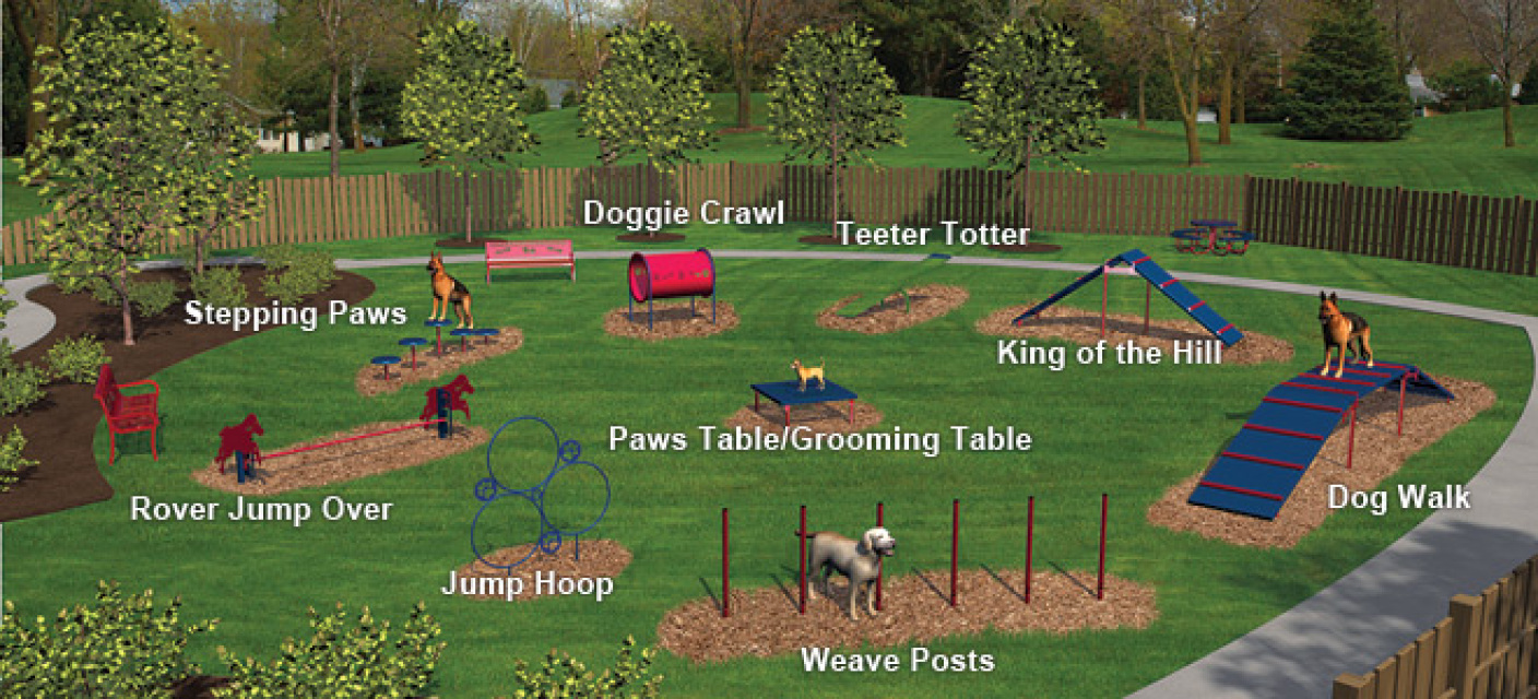 Dog Playground Equipment For Home
