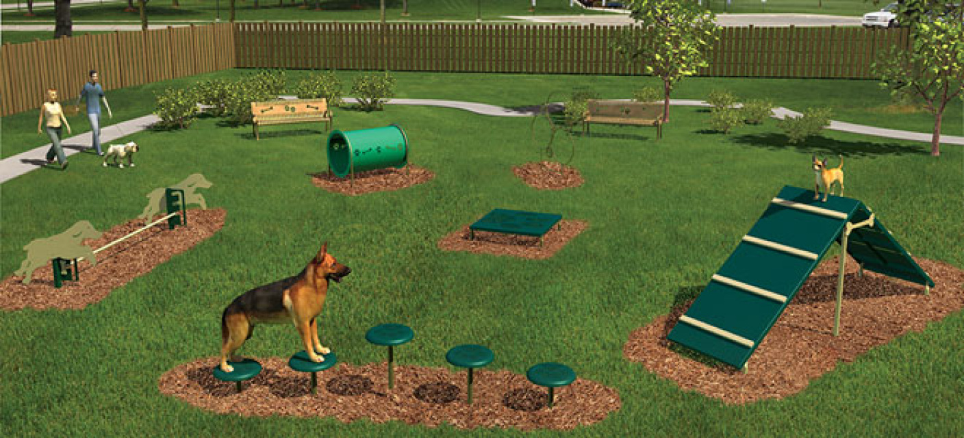 GT Wulf - Pet Sitting & Pet Waste Management - Intermediate Dog Obstacle Course